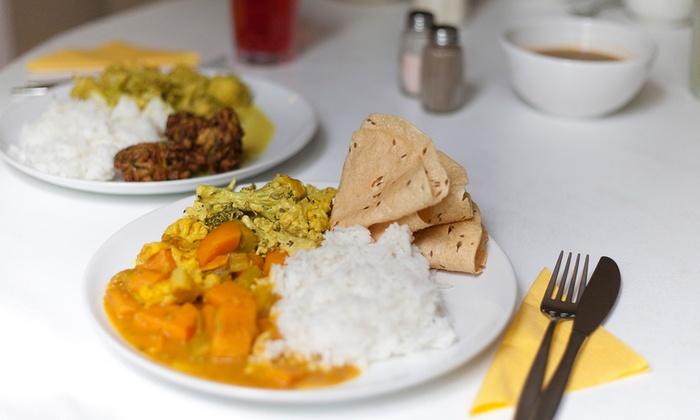 Pääruoka Govindam-kasvisravintolassa 1-6 henkilölle alk. vain 6€ (arvo jopa 51€)