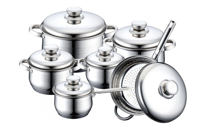 Tyylikäs 12-osainen Royalty Linen keittiösetti ruostumattomasta teräksestä 54,90€ (ovh 149€)