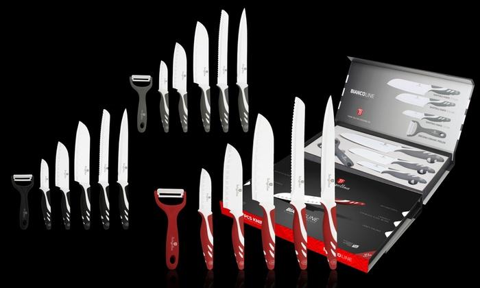 Berlinger Hausin 6-osainen Santoku veitsisetti, ruostumatonta terästä vain 21,90€ (ovh 129€)
