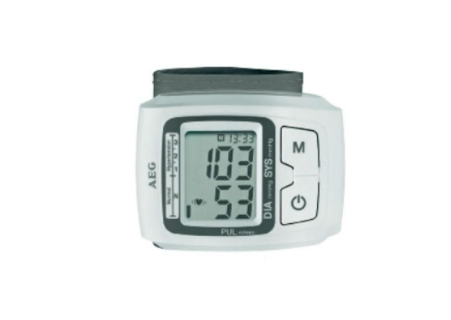 AEG verenpainemittari, rannemalli vain 19,90€ (ovh 59,90€)