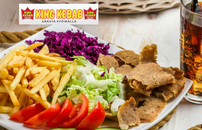 LOPPUUNMYYTY! Vapaavalintaiset kebabit ja limut kahdelle vain 10€ (arvo 22€)