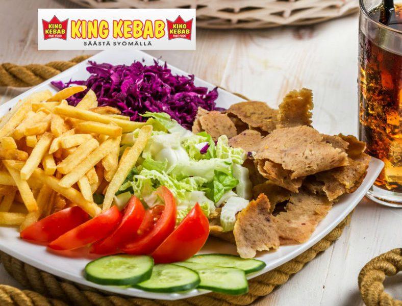 Vapaavalintaiset kebabit ja limut kahdelle King Kebabista vain 10€ (arvo 22€)