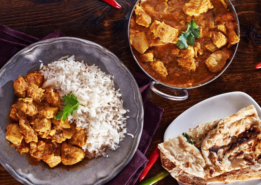 Intialaiset 3 ruokalajin Thali-annokset Itiksessä 2:lle tai 4:lle alk. vain 19€