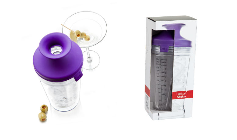 Violetti cocktail shaker 6€ (ovh 18,90€)