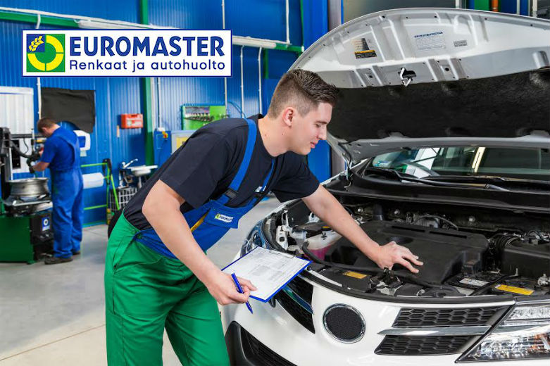Renkaiden tasapainotus ja Mastercheck-kuntotarkastus Euromasterilla 19€ (arvo 100€)