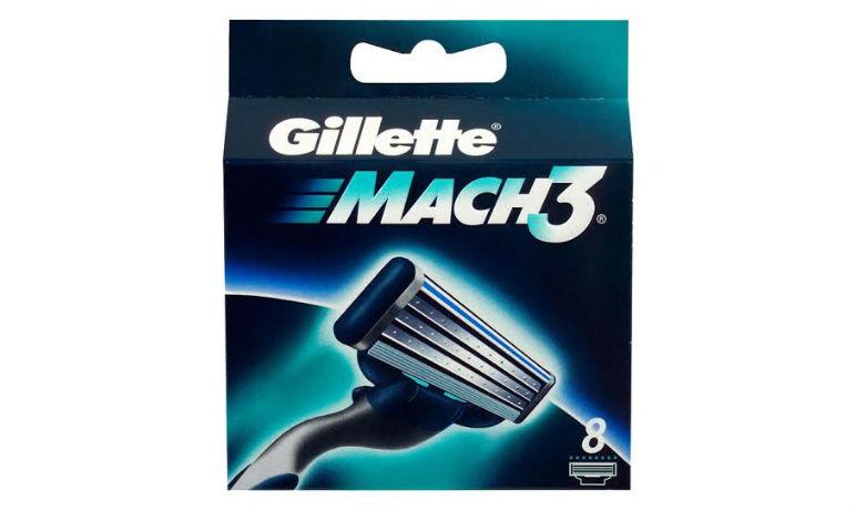 Gillette Mach3 partakoneen terät 8 kpl 17,95€ (ovh 29,90€) sis.toimituskulut