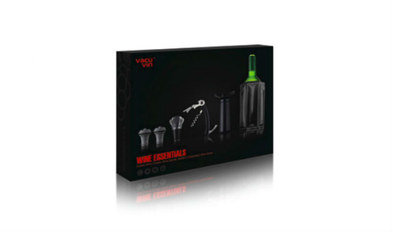 Lahjasetti Wine Essentials Black LE 15€ (ovh 36,90€)