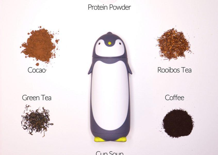 Pingviini-termosmuki valittavana 2 eri mallia 16€ (ovh 32€) sis. toimituskulu