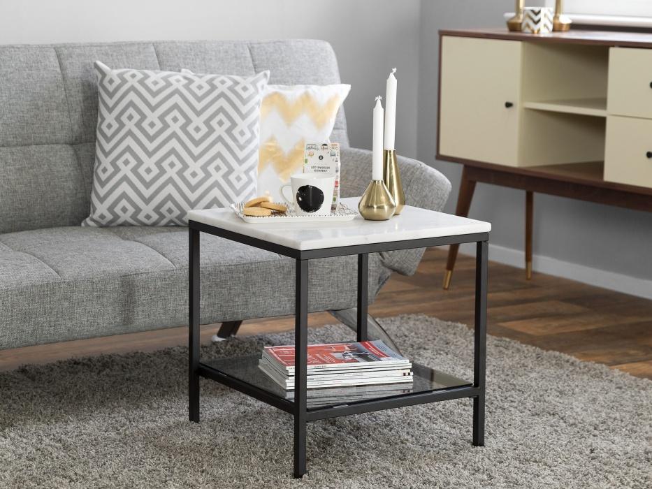 CLARISSA marmorinen sivupöytä 135€ (ovh 349€)