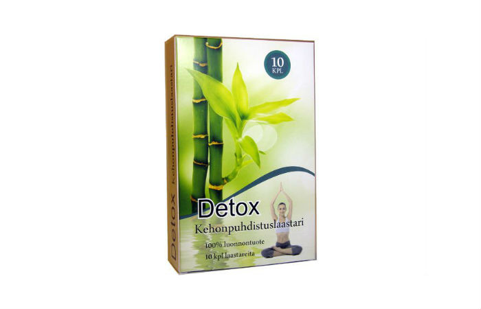 Kehoa puhdistavat Detox-laastarit 10-40 kpl alk. 5,70€