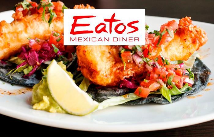 Eatos Mexican Diner – vapaavalintainen 3 ruokalajin menu 2 tai 4:lle alk. vain 45€