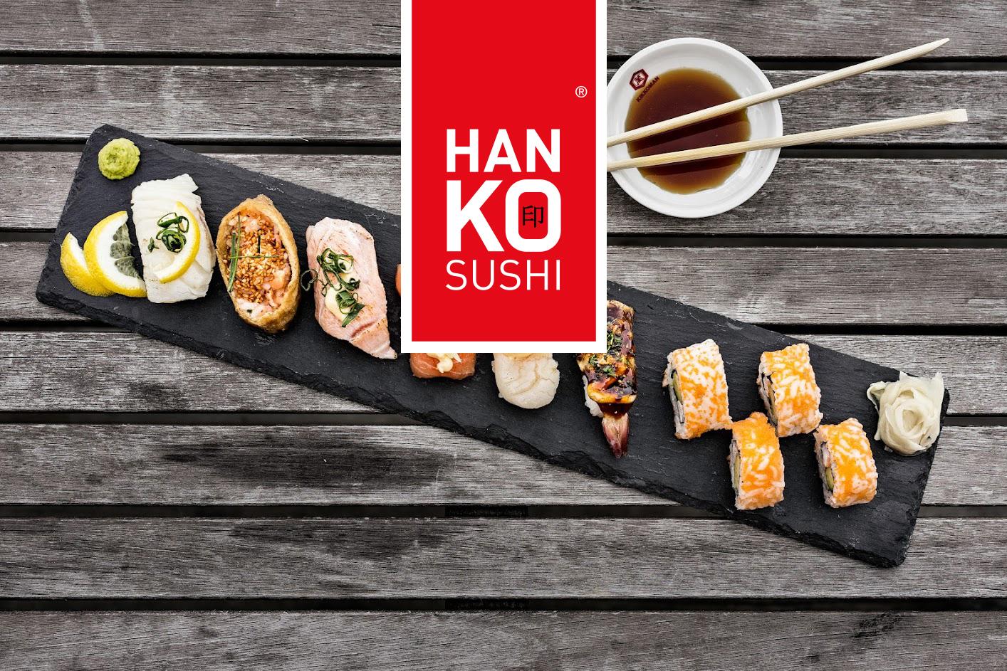 Hanko Sushi Kauppakeskus Mylly – S, M tai L-sushilajitelmat kahdelle tai neljälle alk. 13€ (säästä 50%)