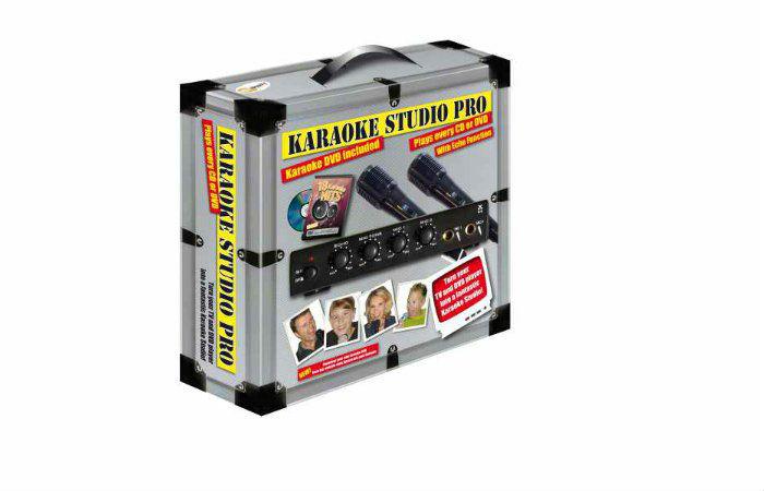 Karaoke Studio Pro -karaokelaite 34,90€ (ovh 49,95€)