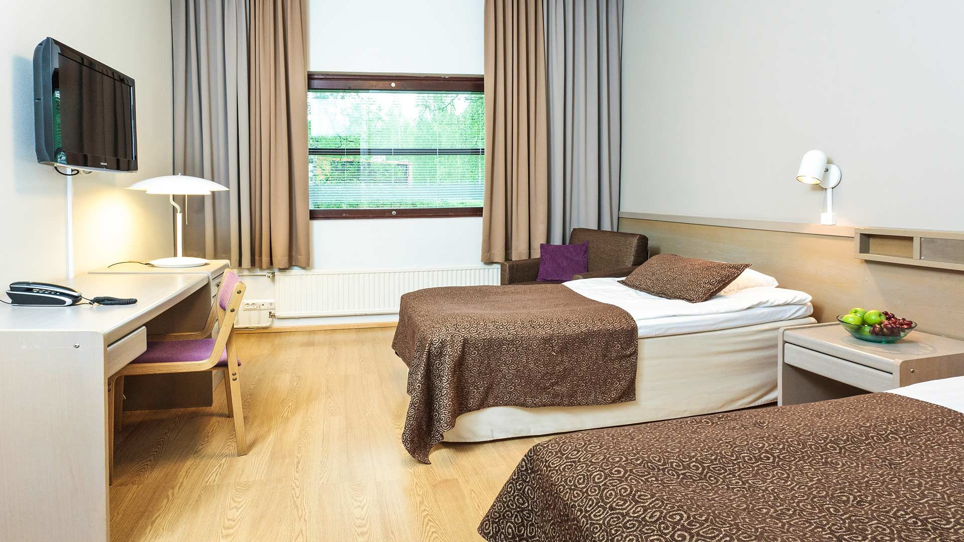 hotellinuuksiohuone