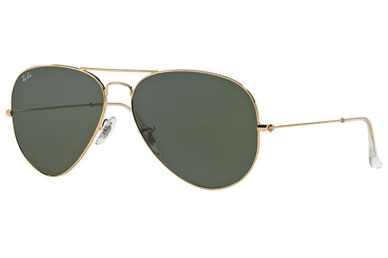 Ray-Ban Aviator -aurinkolasit 86,09€ (ovh 107€)