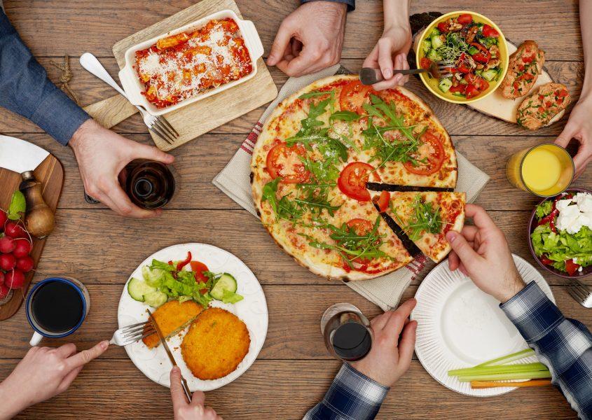 Aidot italialaiset pastat tai pizzat kahdelle tai neljälle alk. 18€