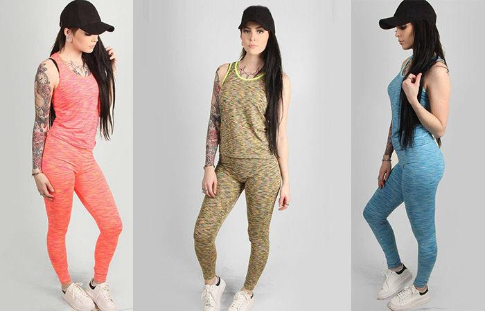 Urheiluvaatesetti, sis. topin ja housut, 6 värivaihtoehtoa 15,90€ (ovh 35,80€)