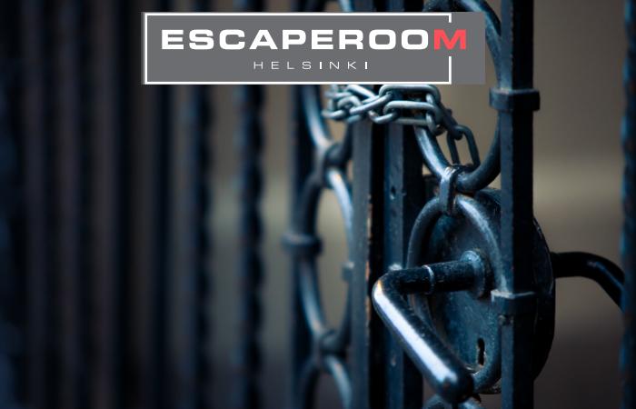 Vapaavalintainen Escape Room -peli 2-6:lle 75€