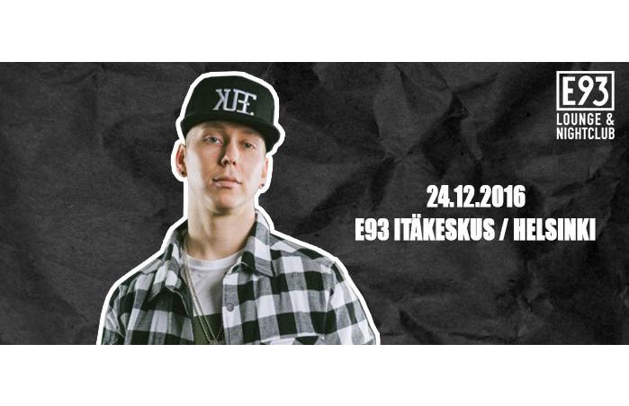 20. luukku! Jouluaattona 24.12. Mäkki @ E93 Lounge & Night Club vain 1€ (arvo 7€)