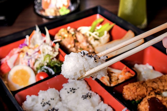 Japanilainen Bento-menu kahdelle tai neljälle alk. vain 39€