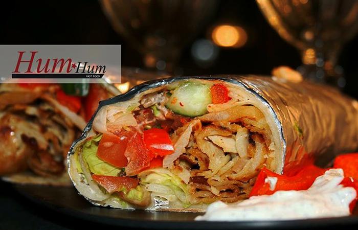Shawarma kanalla tai lihalla ja limu 5,50€ (säästä 42%)