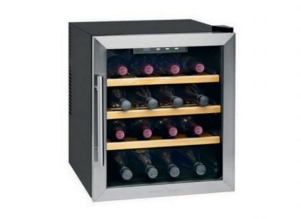 Profi Cook -viinikaappi 16 pullolle 269€ (ovh 399€)