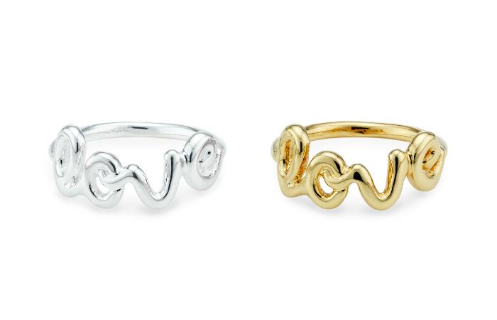 Love-sormus, hopea tai kulta 9,90€ (ovh 23€)