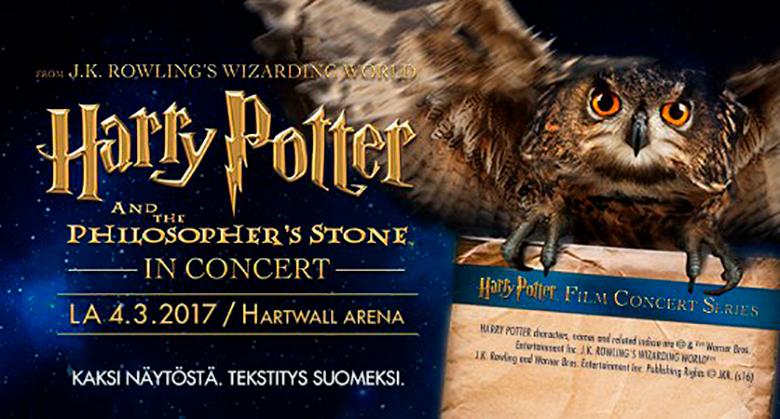 VAIN Offerillan asiakkaille: Kaksi lippua Harry Potter Ja Viisasten Kivi™ -konserttiin (säästä 47%)