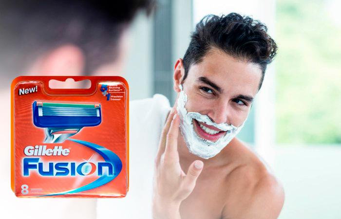 Gillette Fusion Manual -vaihtoterät 8 kpl 21,95€