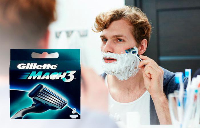 Gillette Mach3 -vaihtoterät 8 kpl 17,84€