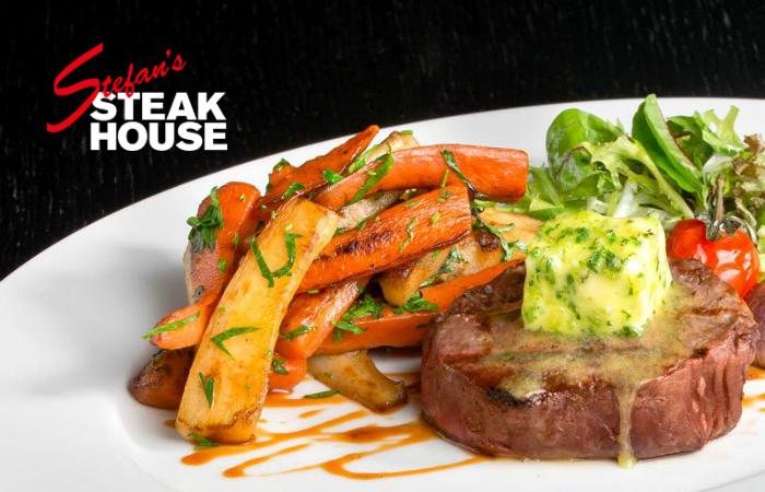 Kolmen ruokalajin menu neljälle Stefan's Steakhousessa 110€ (säästä 51%)