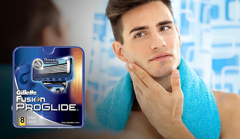 8 kpl Gillette Fusion ProGlide Manual -vaihtoterät 25,95€