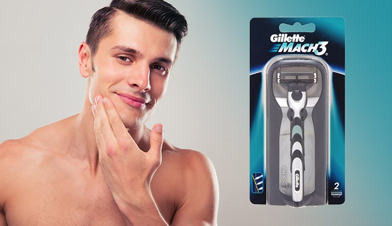 Gillette Mach3 -partahöylä 8,45€