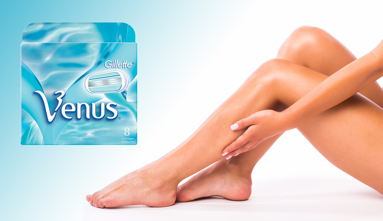Gillette Venus -vaihtoterät 8 kpl 19,95€