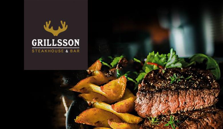 Grillsson – kolmen ruokalajin menu kahdelle tai neljälle alk. 50€ (säästä jopa 51%)