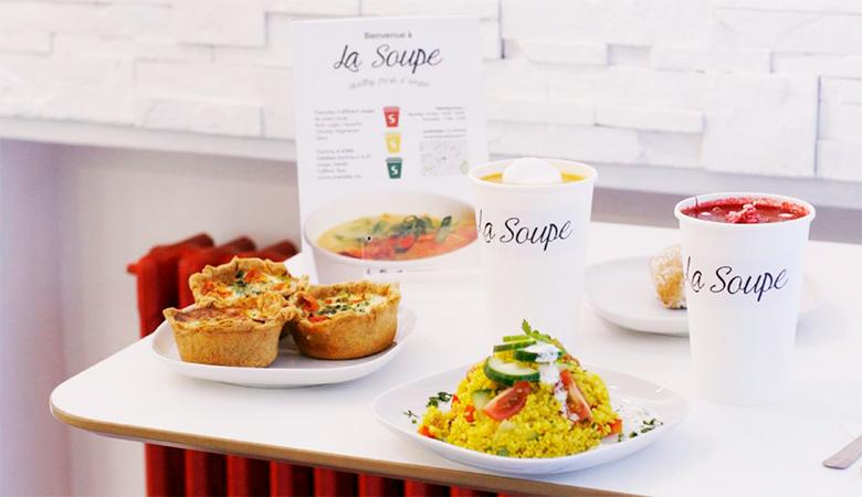 Iso keitto yhdelle La Soupesta vain 4,20€ (säästä 51%)