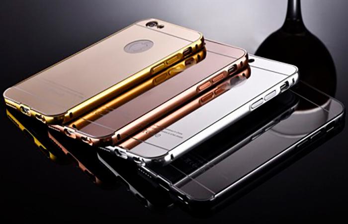 iPhone 7 – metalliset puhelimen kuoret, neljä eri väriä 9,90€ (säästä 50%)