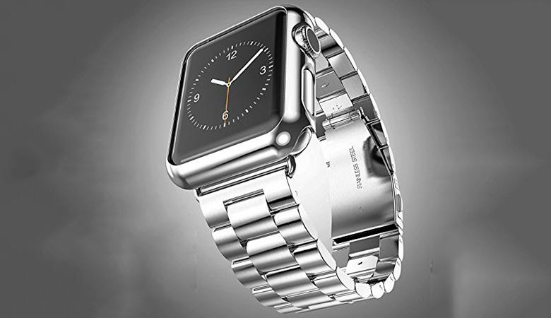 42 mm Apple Watch -ranneke ruostumatonta terästä, 4 värivaihtoehtoa 24,90€ (säästä 58%)