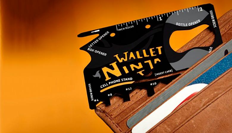 Monitoimityökalu Ninja Wallet 6,90€ (säästä 54%)