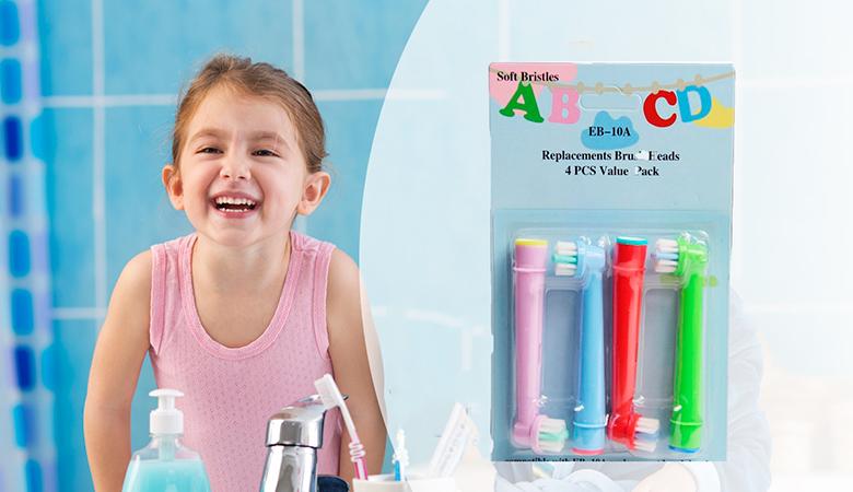 Lasten Oral-B hammasharjaan yhteensopivat vaihtopäät, 8 tai 16 kappaletta alk. 9,90 € (säästä jopa 53%)