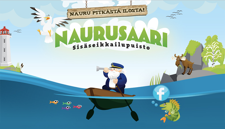 Lippu Sisäseikkailupuisto Naurusaareen 1-4:lle alk. 4€ (säästä jopa 63%)