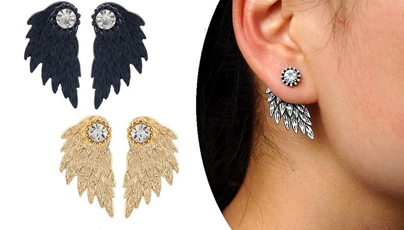 Angel Wings -korvakorut, 3 värivaihtoehtoa 10,50€ (säästä 66%)