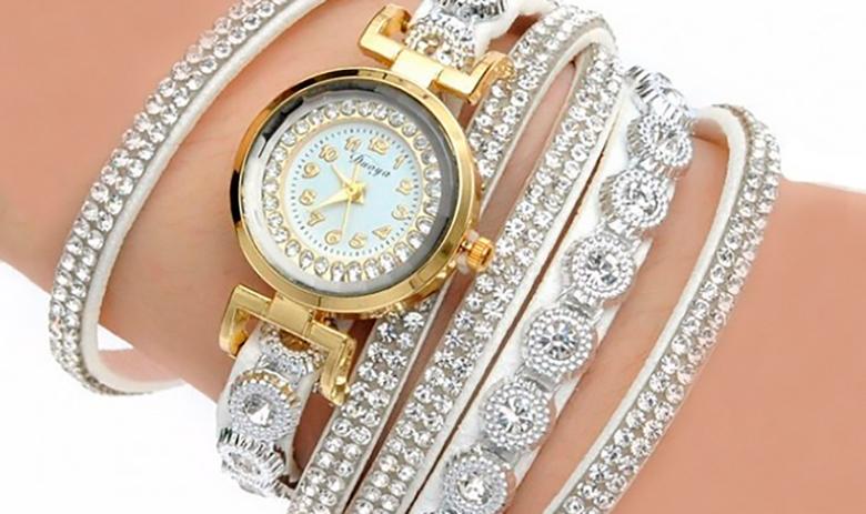 Ashlyn Wrap Watch -rannekello, seitsemän värivaihtoehtoa 10,90€ (säästä 62%)