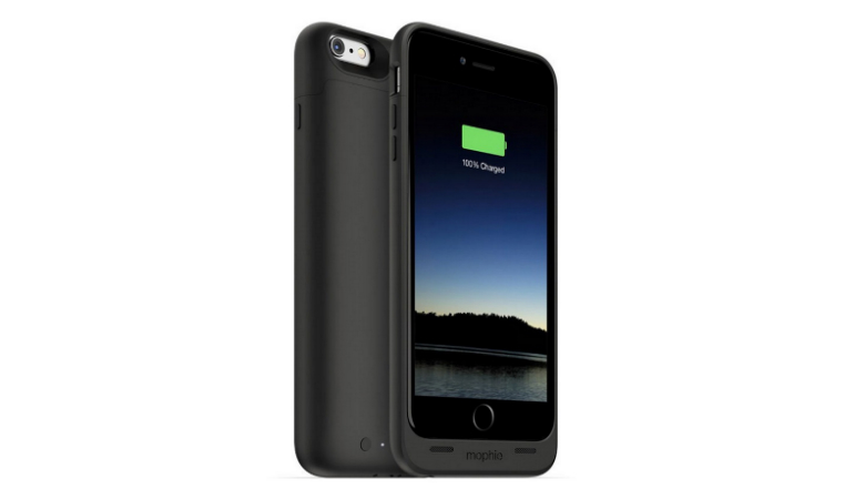 Mophie Juice Pack Air 2600 mAh -akkukotelo, iPhone 6 Plus / 6s Plus 49€ (säästä 55%)