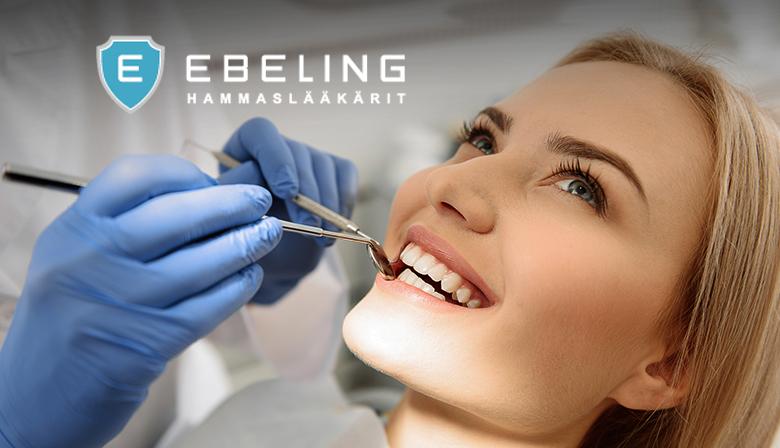 Hammastarkastus, hammaskiven poisto ja tarvittaessa koko leuan röntgenkuvat 69€ (säästä 71%)