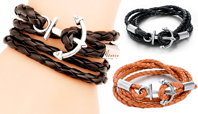 Masculine Multilayer Anchor -rannekoru 10,90€ (säästä 62%)