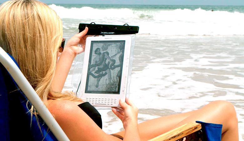 Vesitiivis säilytyspussi iPadille 29,95€ (säästä 50%)