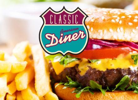 Classic American Diner -menu kahdelle 40€ (säästä 43%)