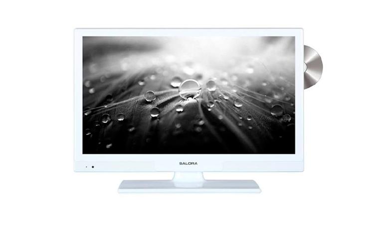 Salora 20″ LED-TV DVD-soittimella 209€. Erinomainen TV vaikkapa mökille!