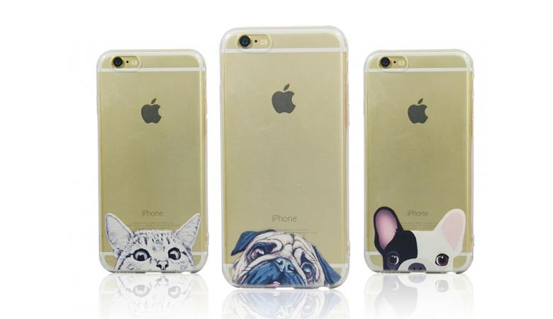 iPhone 6+ -suojakuoret lemmikkiteemalla 7€